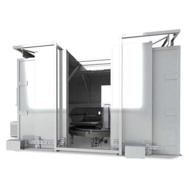 Рентгенотелевизионная система для контроля отводов труб SRE 4590