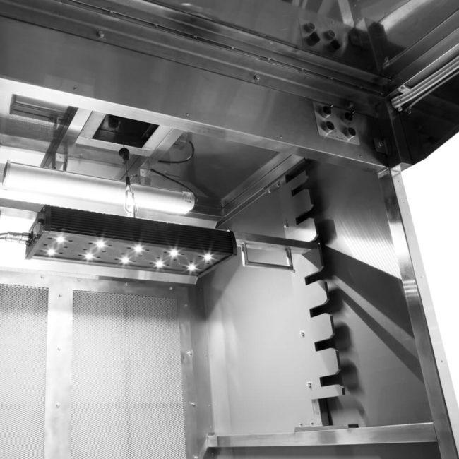 Система уф-освещения в кабине капиллярного контроля Элитест
