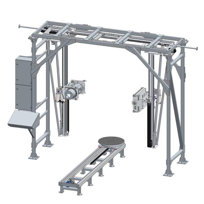 Универсальная рентгенотелевизионная система портального типа C.R.E. NCP