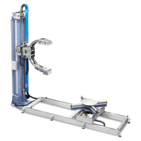 Рентгенотелевизионная система для контроля вертикальных цилиндрических объектов и обечаек S.R.E. 142