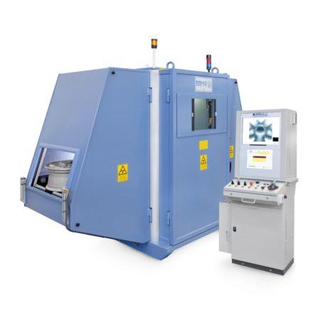 Рентгенотелевизионная система для контроля колесных дисков W.R.E. Thunder 3