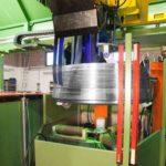 Автоматическая магнитопорошковая система КМВ С-1150 для контроля муфт большого диаметра