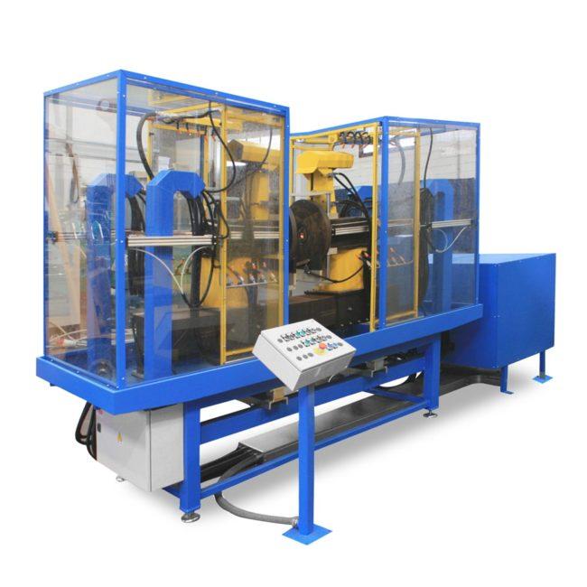 Автоматическая магнитопорошковая система KMB С-410 для контроля муфт малого диаметра