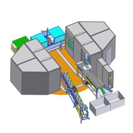 Автоматическая магнитопорошковая система KMB GA-С для контроля коленчатых валов