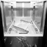 Поворотный стол линии капиллярного контроля