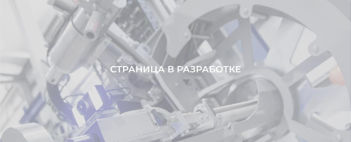 Страница проекта в разработке