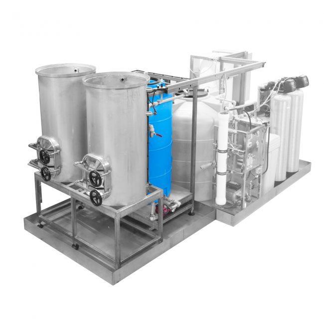Система угольной очистки воды