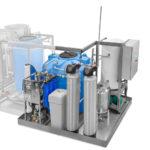 Станция водоподготовки воды для капиллярного контроля