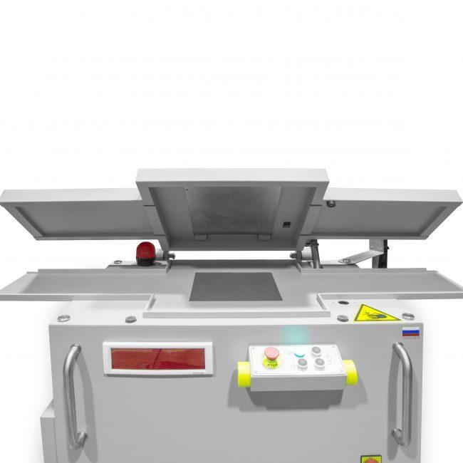 Рентгенотелевизионная установка для контроля штрипс-лент. Вид сверху