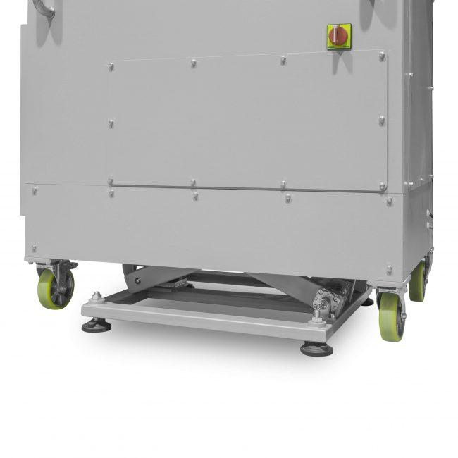 Рентгенотелевизионная установка для контроля штрипс-лент. Подъемный механизм